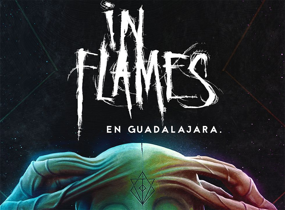 IN FLAMES portada