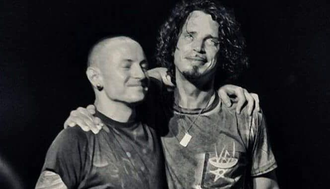 chester y chris cornell