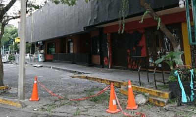 Plaza condesa sismo