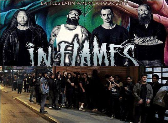In Flames en Lima