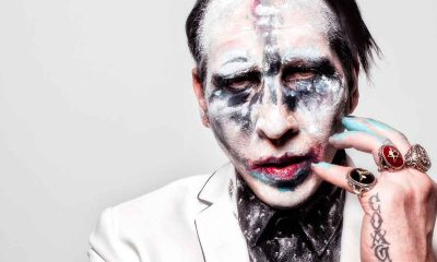 Marilyn Manson Accidentado