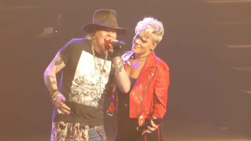 Pink y Guns n Roses e1507950089898
