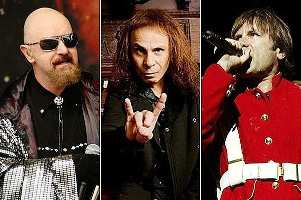 Rob Halford Ronnie James Dio Bruce Dickinson