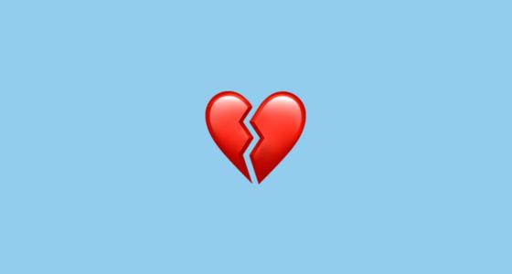 broken heart 1f494
