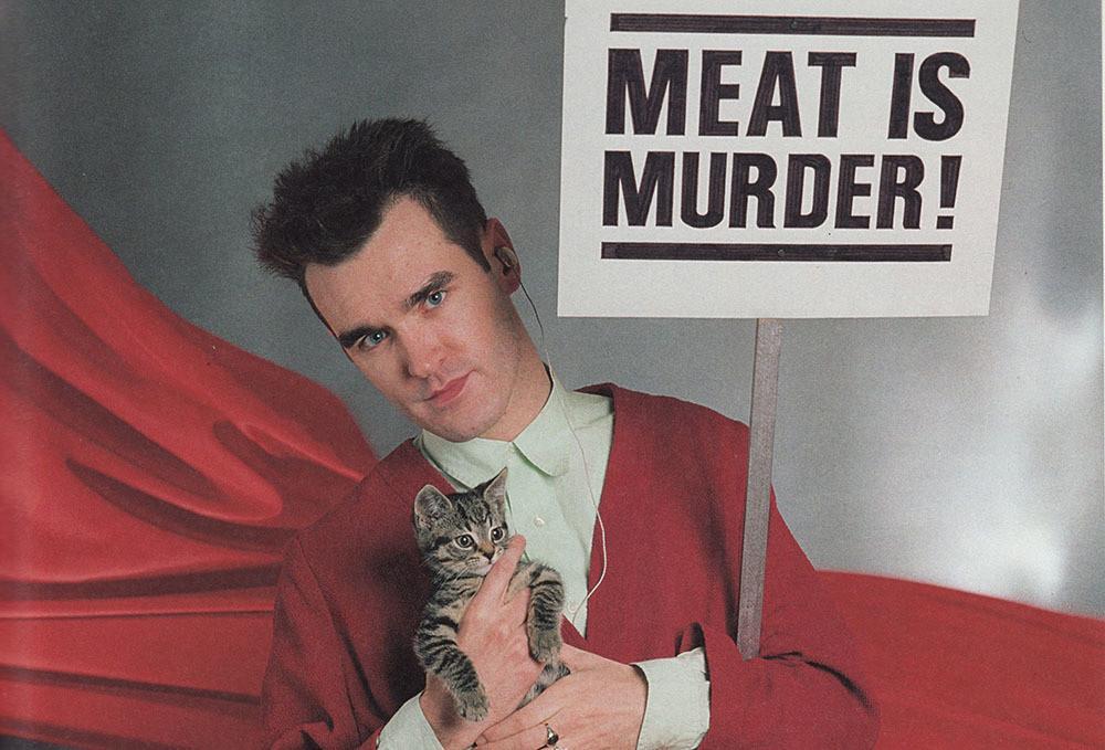 Morrissey y su solicitud para prohibir la venta de carne en los festivales que participa | El Club Del Rock