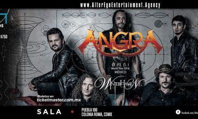 Angra cover CDMX Winter 1