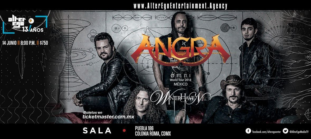 Angra cover CDMX Winter 1