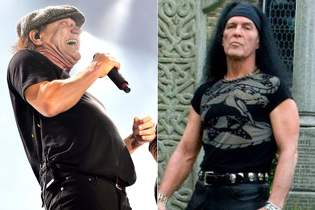 Brian Johnson and Dave Evans
