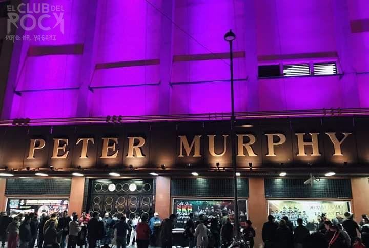 Peter Murphy show