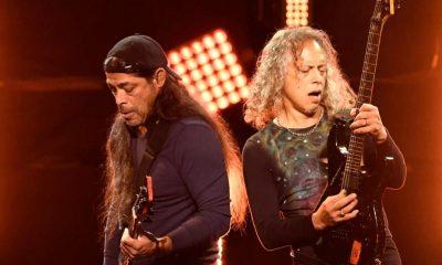 Kirk Hammett y robert trujillo