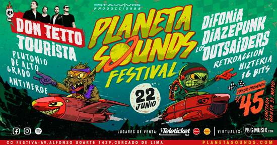 PLANETA SOUNDS PORTADA DE FAN PAGE 1