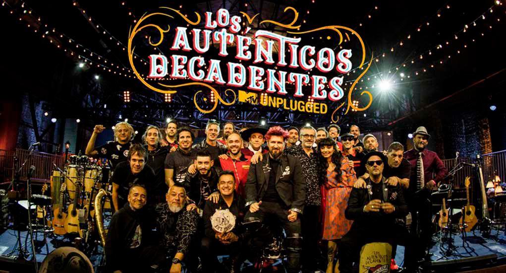 los autenticos decadentes mtv unplugged fiesta nacional 1