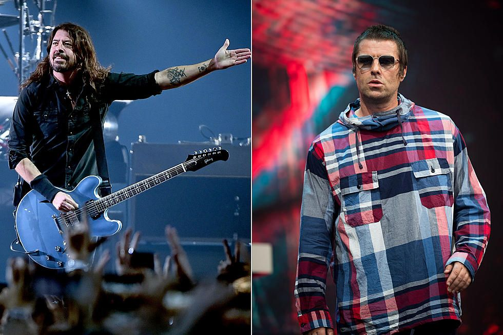 Dave Grohl Liam Gallagher