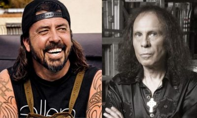Dave Grohl Ronnie James Dio 1280x720
