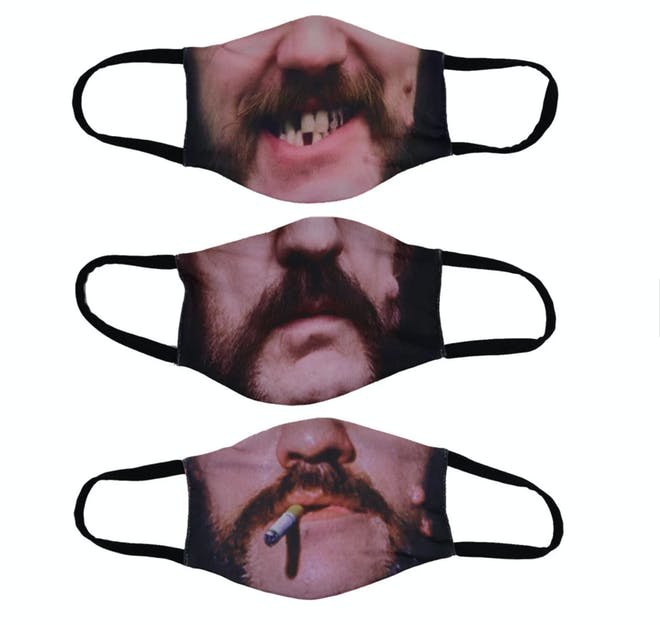 603baffe motorhead lemmy facemasks