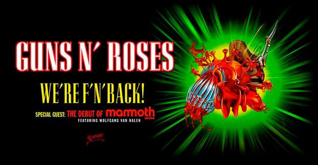 380fed67 guns n roses poster