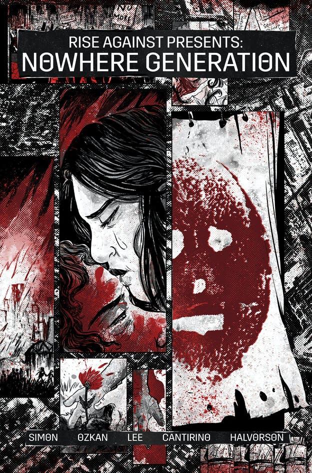 bd9a876e rise against nowhere generation z2 comics cover