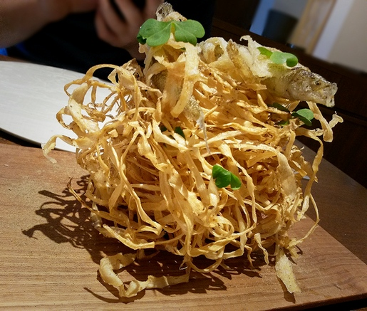 Le Sputnik fish and chips