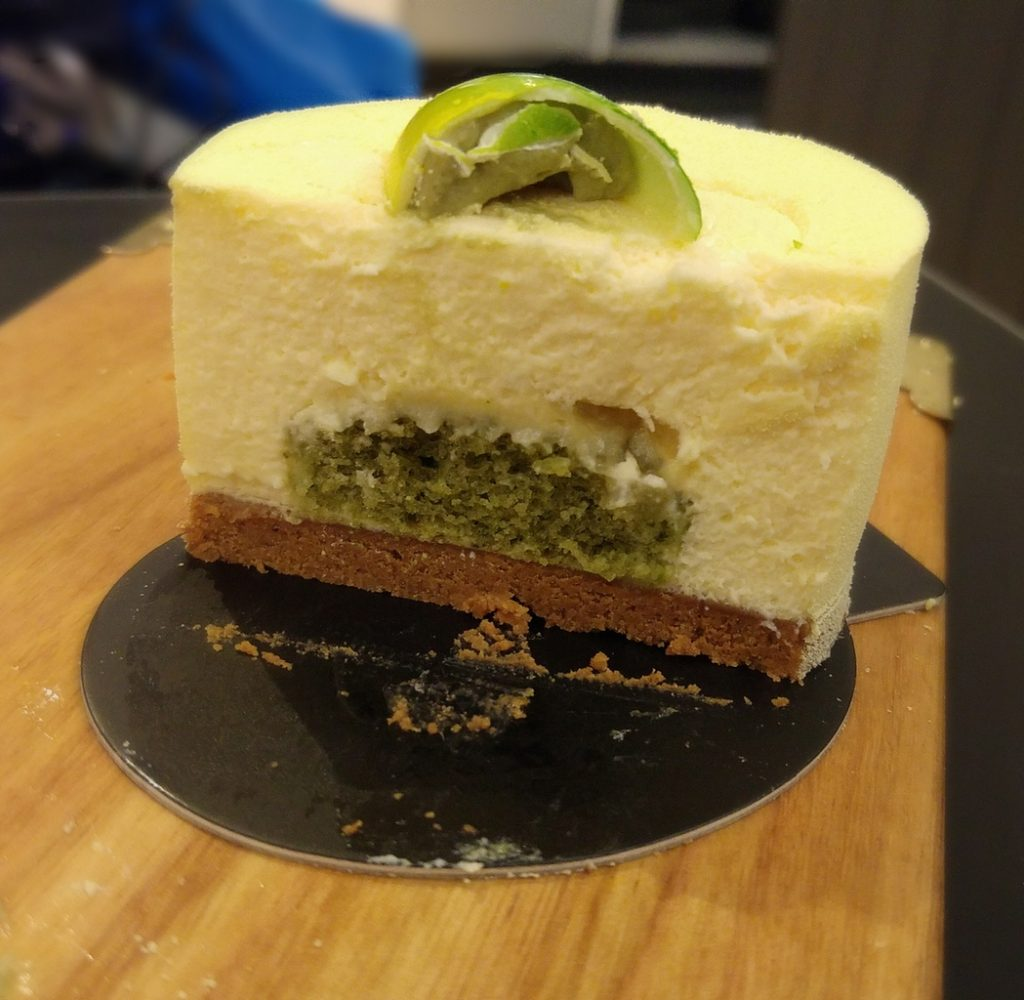 Bibelot lemon basil cheesecake