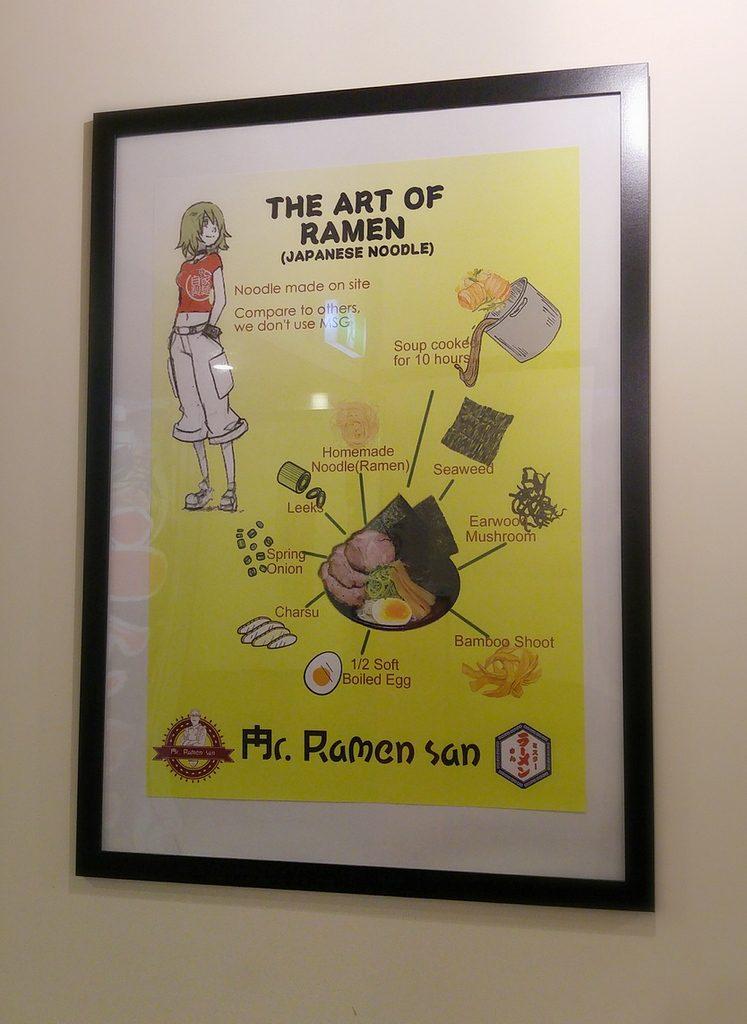 Mr ramen san poster