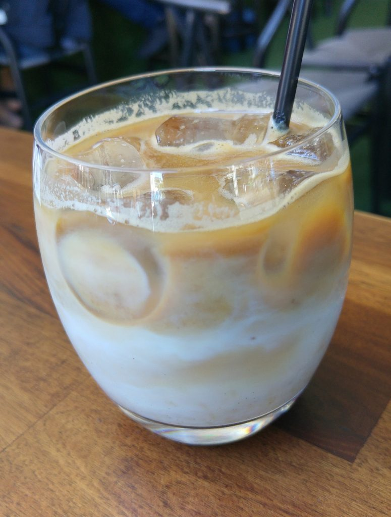 Rogue bar and bistro iced latte
