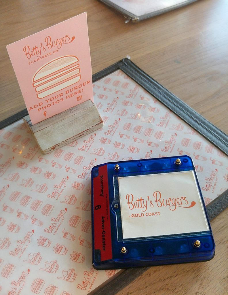 Betty's burgers buzzer