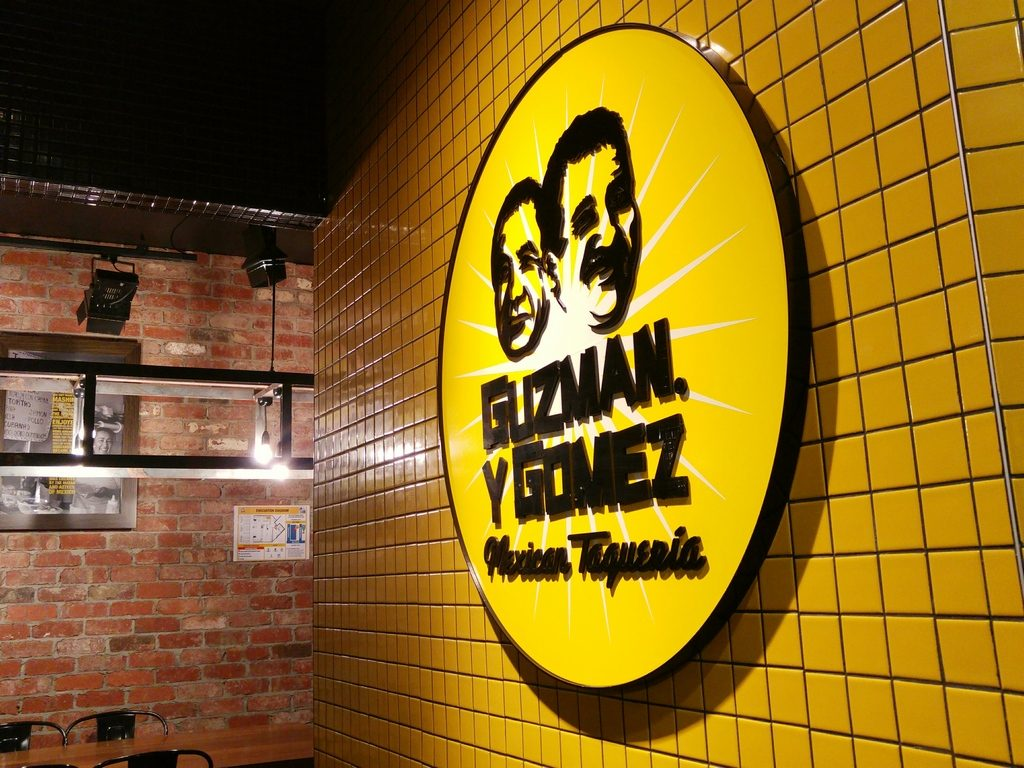 guzman y gomez sign