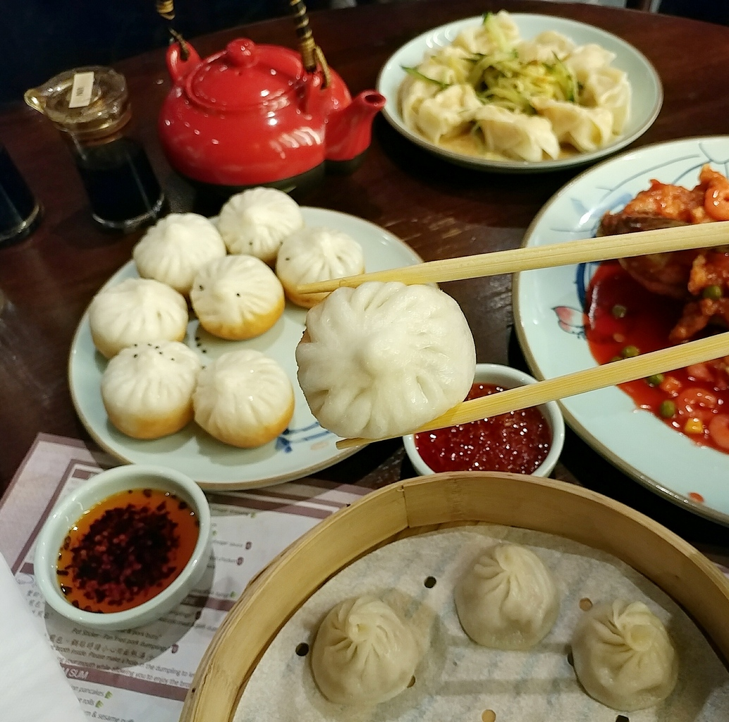 new shanghai pork buns