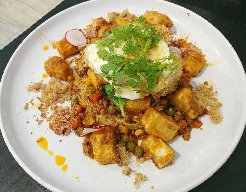 jacaranda coffee lane kung fu mapo tofu