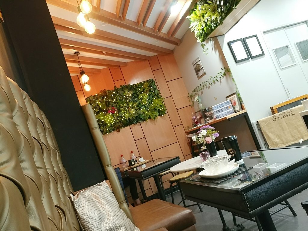 change cafe inside