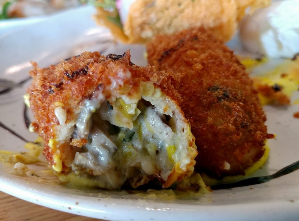 paw paw cafe croquettes