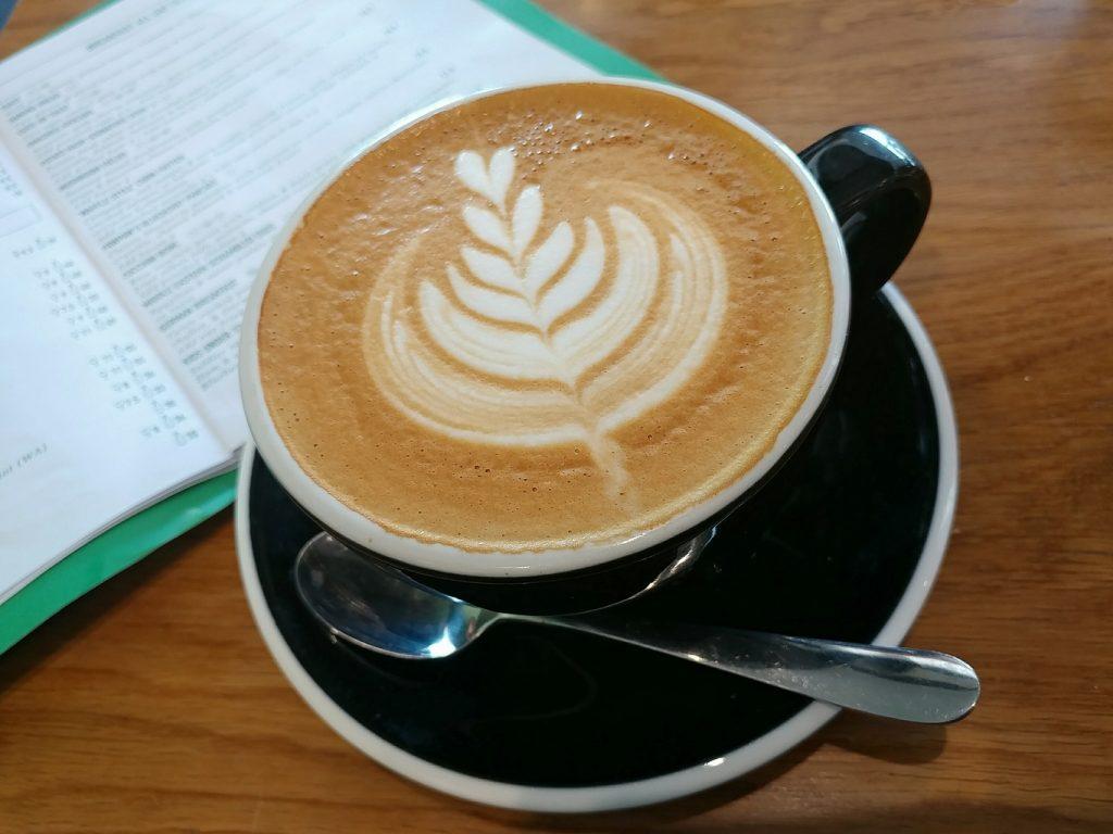 paw paw cafe flat white