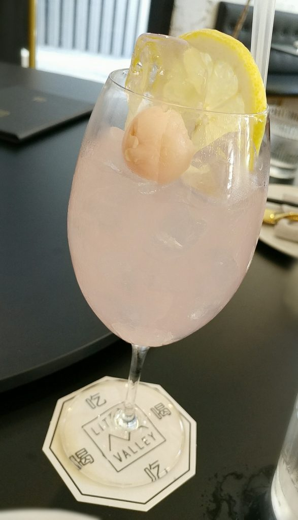 little valley lychee mocktail