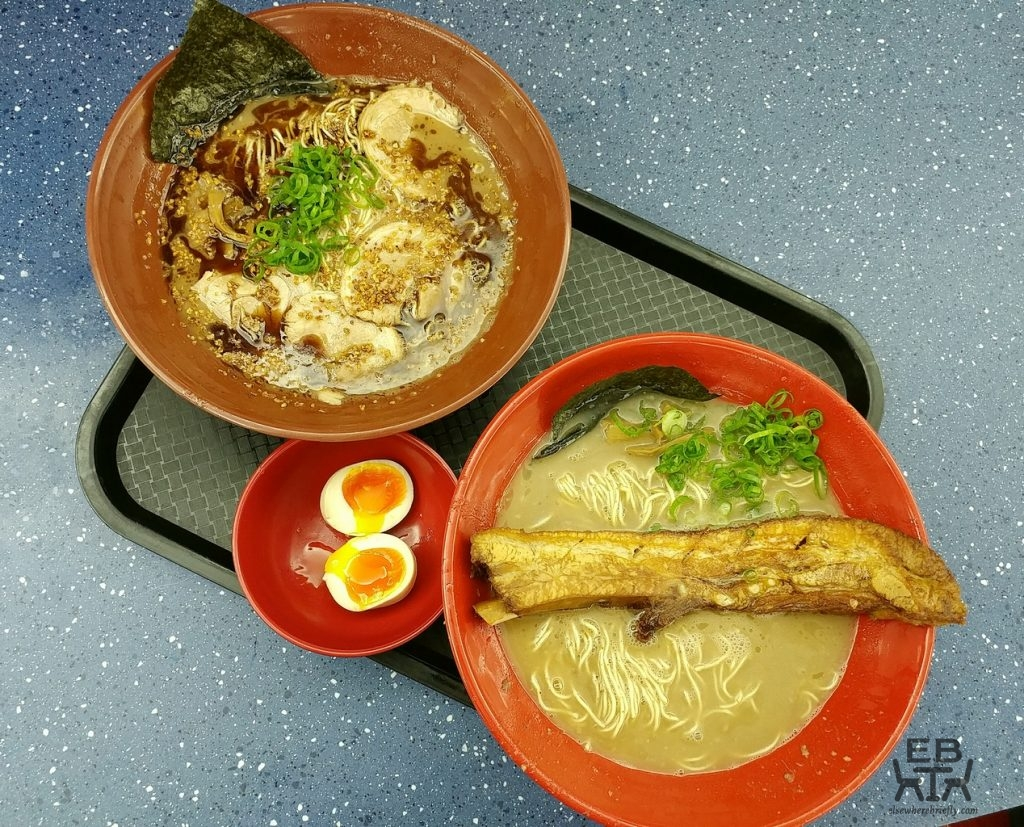 gumshara ramen dishes