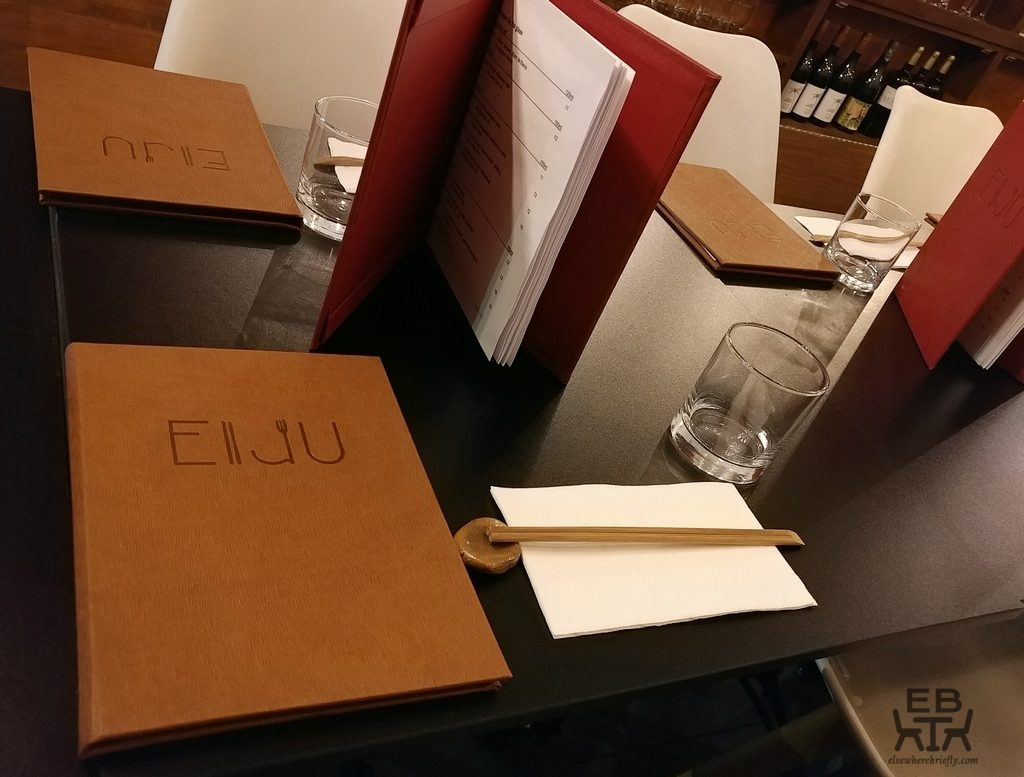 eiju japanese fusion dining table
