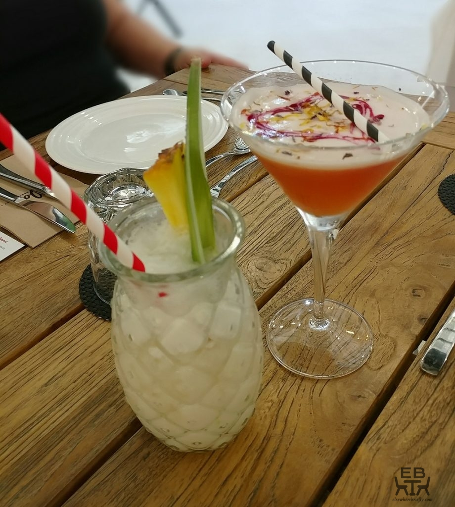 comfort food cabaret drinks