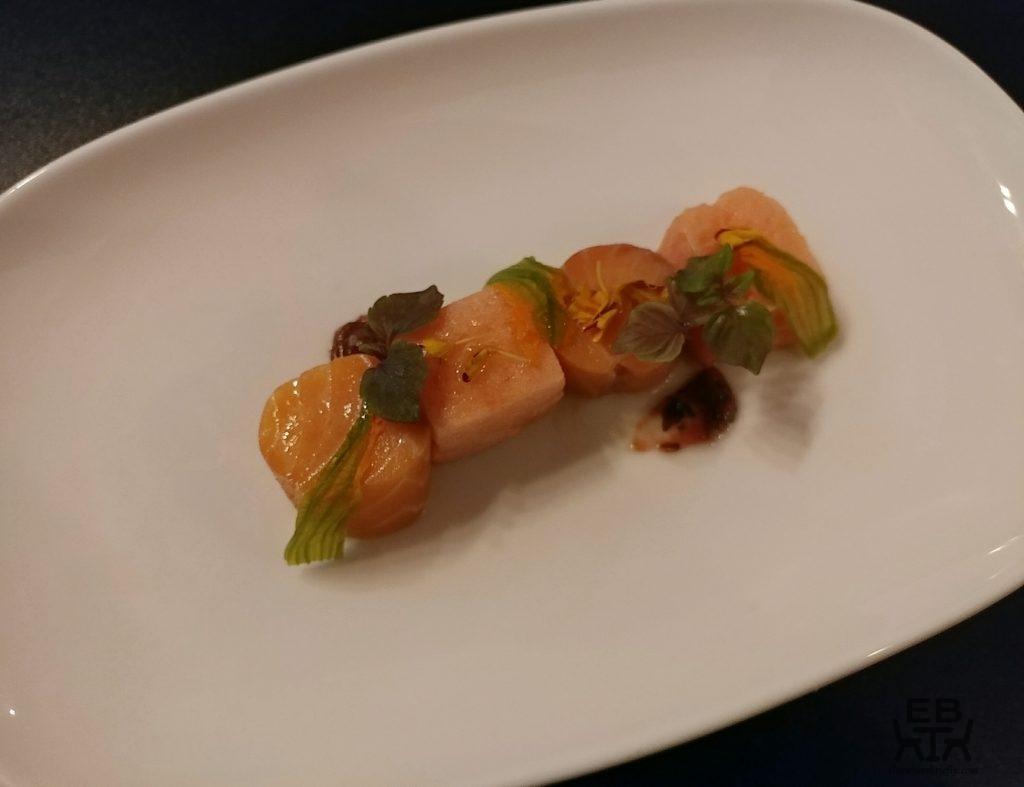 eiju japanese fusion dining salmon