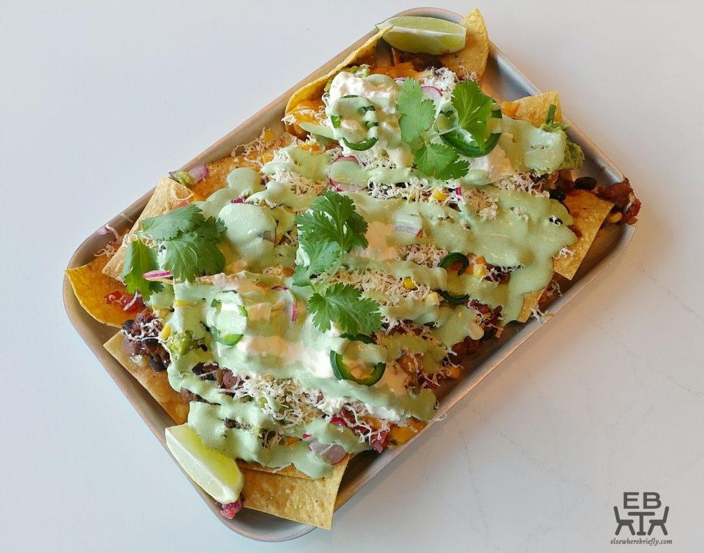 la diosa mexicana nachos