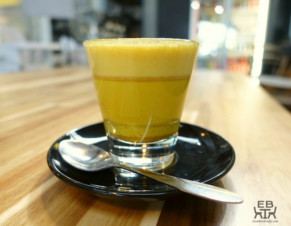 method to the madness tumeric latte