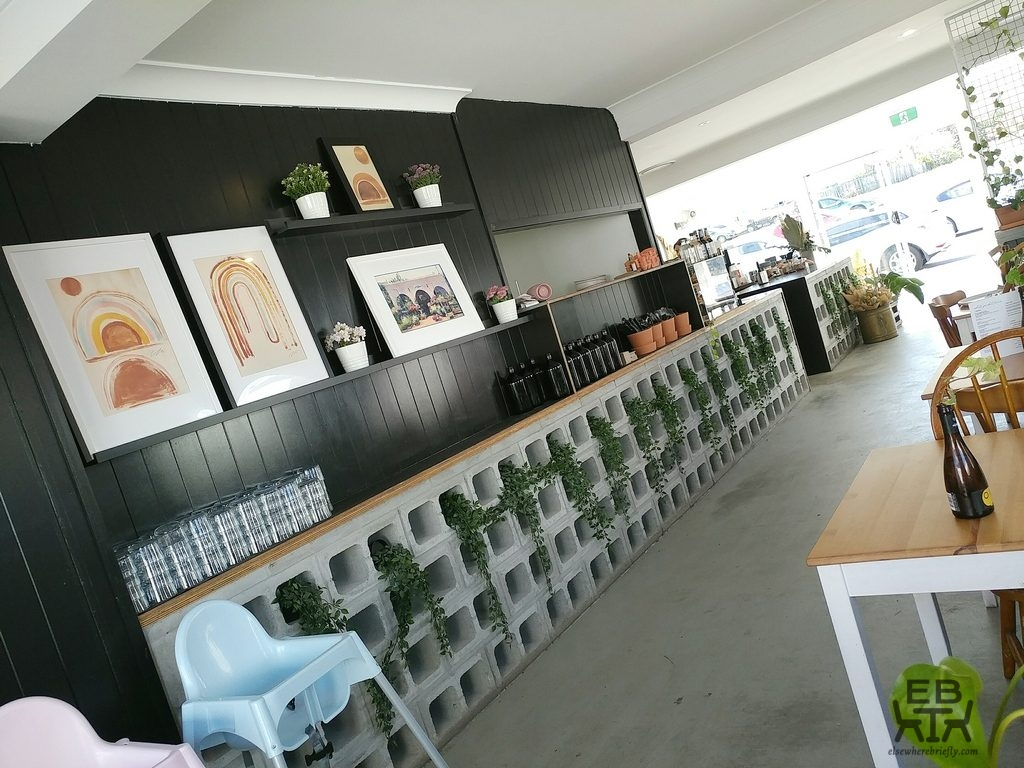 white picket fence cafe inside