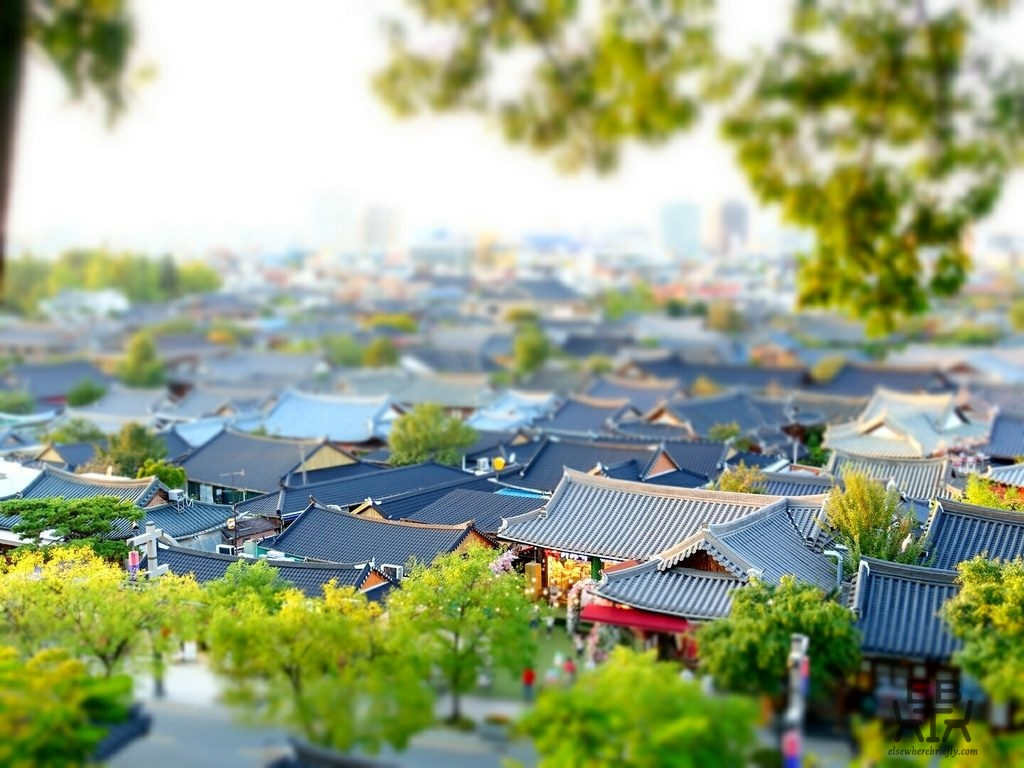 south korea hanok village