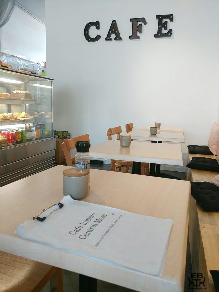 cafe impero menu
