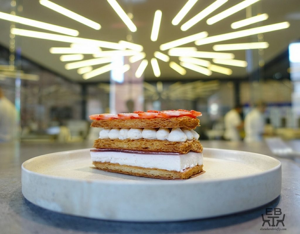 lune lab strawberry millefeuille