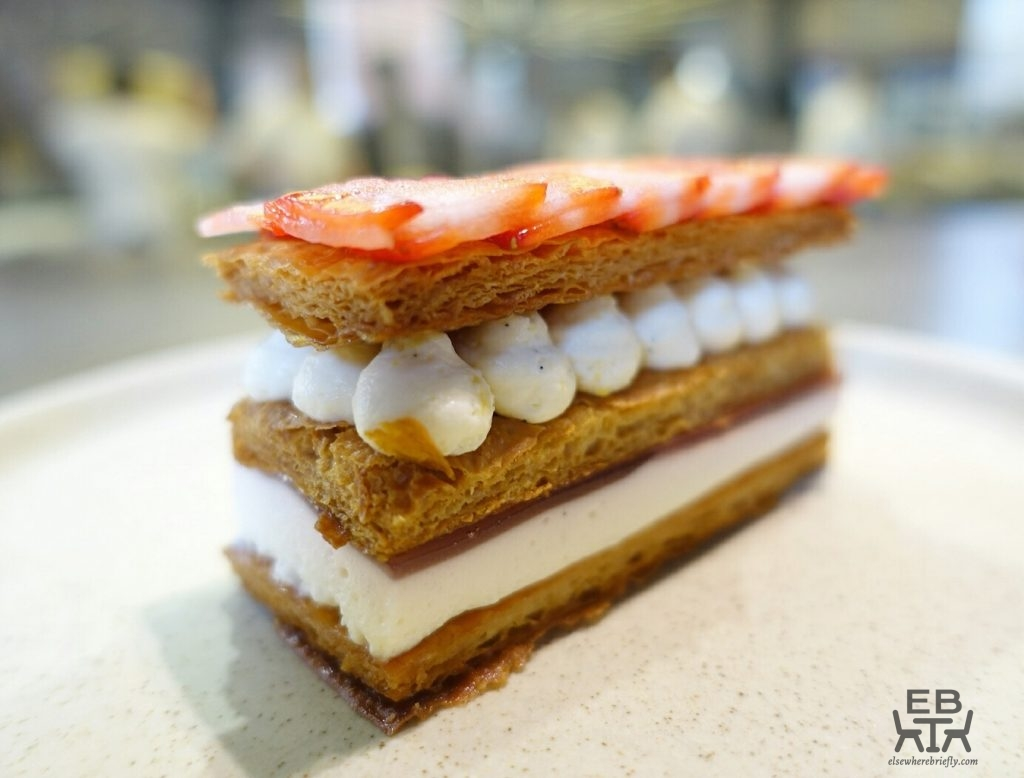 lune lab strawberry mille feuille