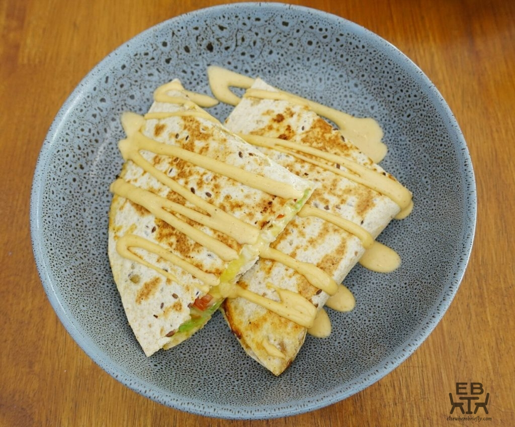 blue bear coffeehouse chicken quesadilla
