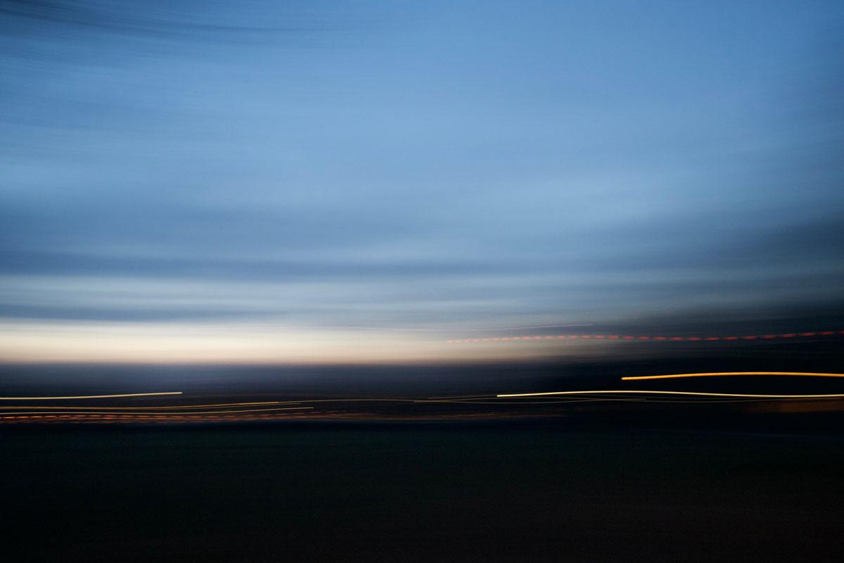 blurry sky and lights
