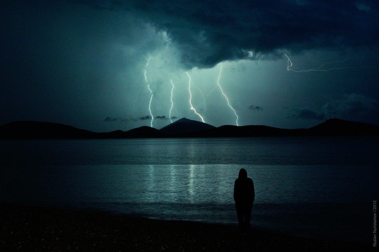 lightning, thunderbolt, thunderstorm