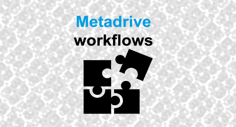 metadrive workflows