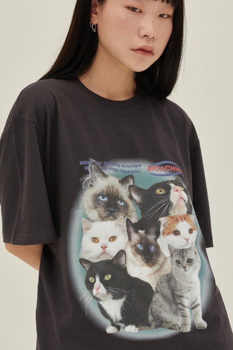 キャットスクアドTシャツ