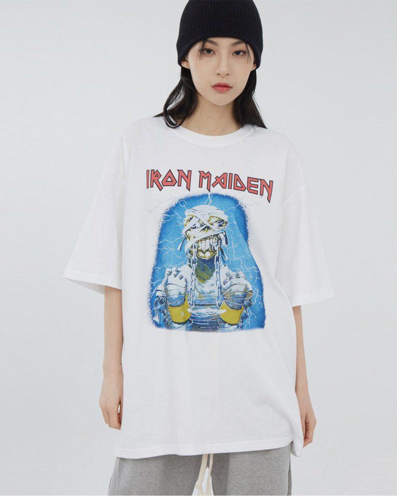 RAUCO HOUSE(ラウコハウス)  アイアンメイデン半袖Tシャツ